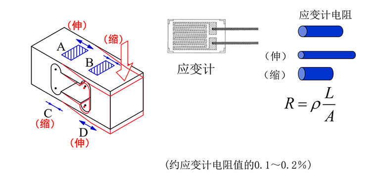 Principle+of+Electronic+Wiring+Resistance+Type+Load+Cell